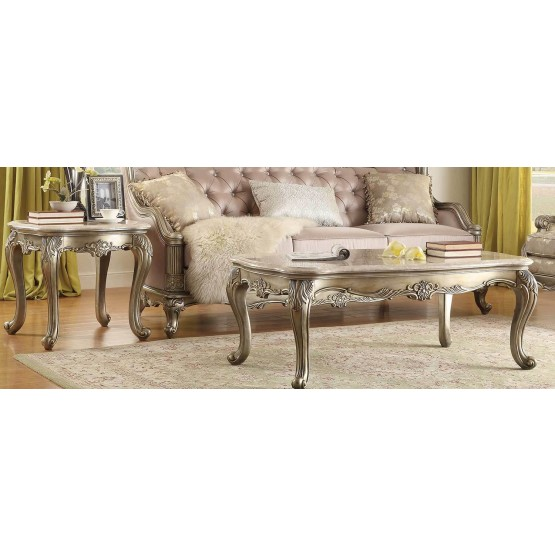 Fiorella Marble Occasional Table Set photo