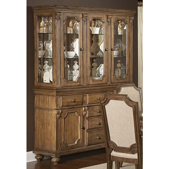 Eastover Classic China Glass/Wood Cabinet photo