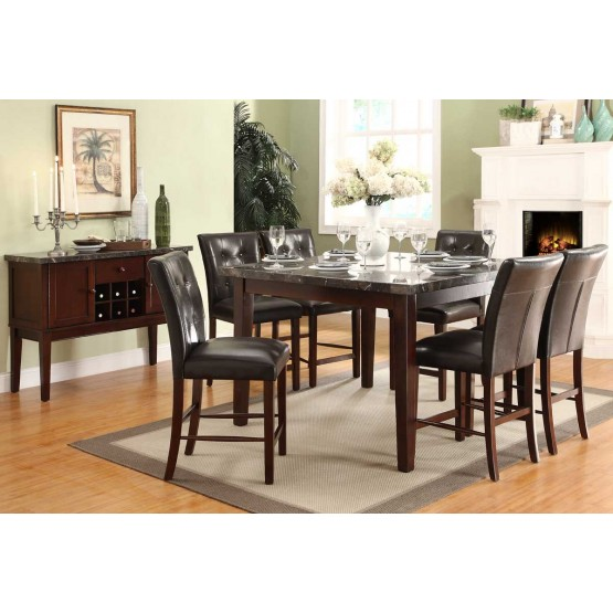 Decatur Transitional Counter Dining Room Set photo