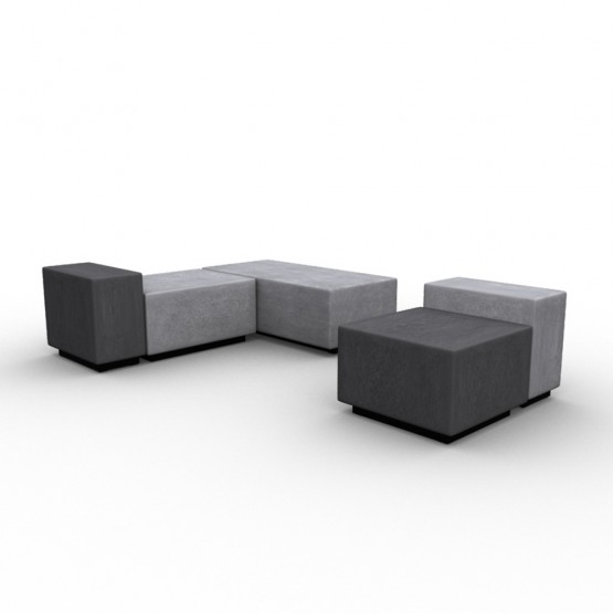 Jazz Chill Out Modular Lounge 2-piece 3-seater Seating photo
