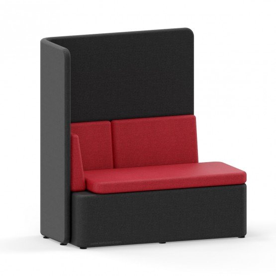 KAIVA Modular Large Seat with High Left Screen photo