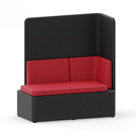KAIVA Modular Large Seat with High Right Screen photo