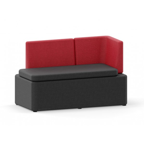 KAIVA Modular Large Right Seat without Screen photo