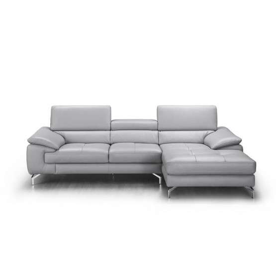 Liam Premium Leather Sectional photo