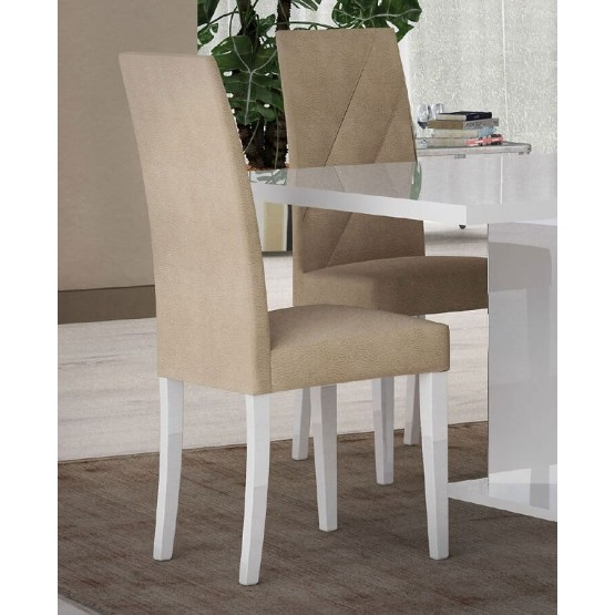 Lisa Contemporary Fabric Dining Chair photo
