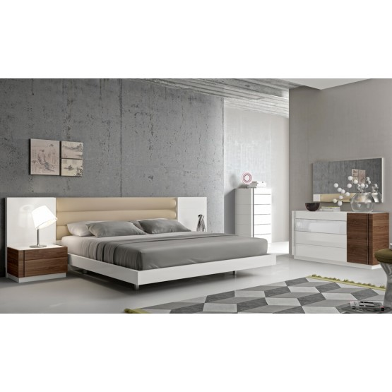 Lisbon Premium Platform Bedroom Set photo