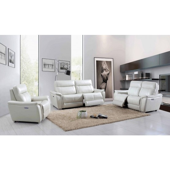 1705 Leather/Eco-Leather Living Room Set w/Recliner photo