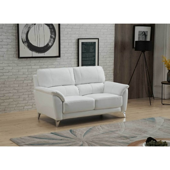 406 Leather/Eco-Leather Loveseat photo