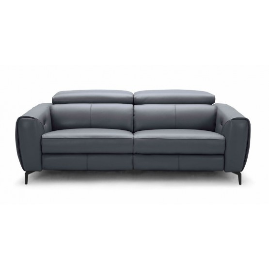 Lorenzo Reclining Premium Italian Leather Motion Sofa photo