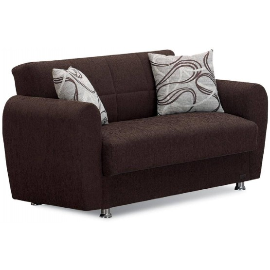 Boston Fabric Storage Loveseat photo