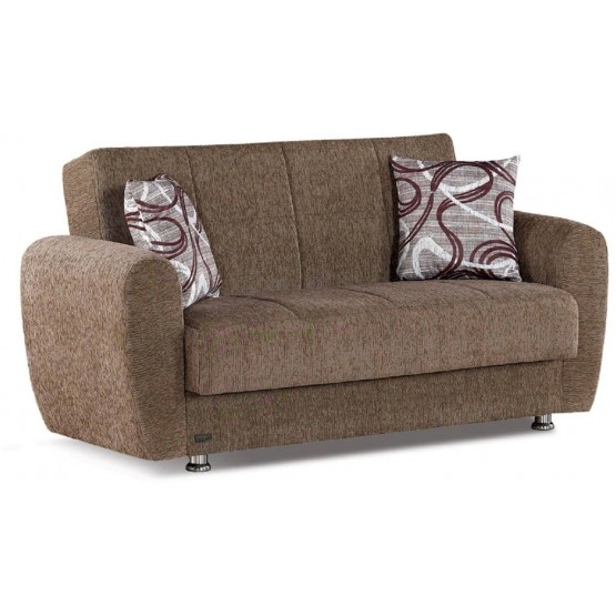 Colorado Fabric Storage Loveseat photo
