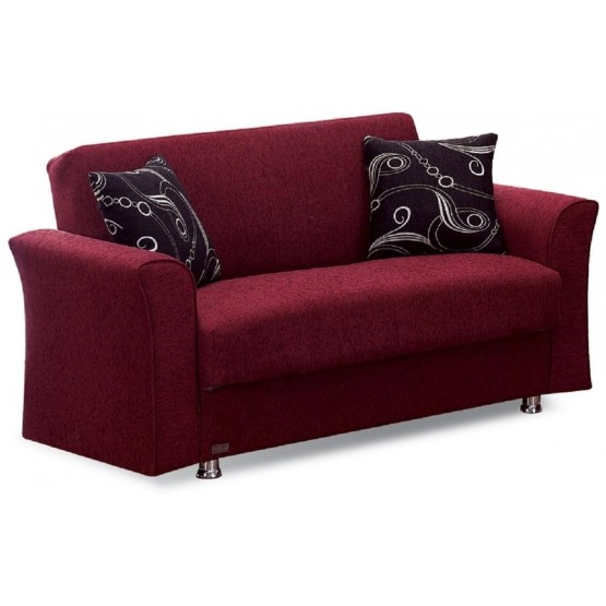 Ohio Fabric Storage Loveseat photo
