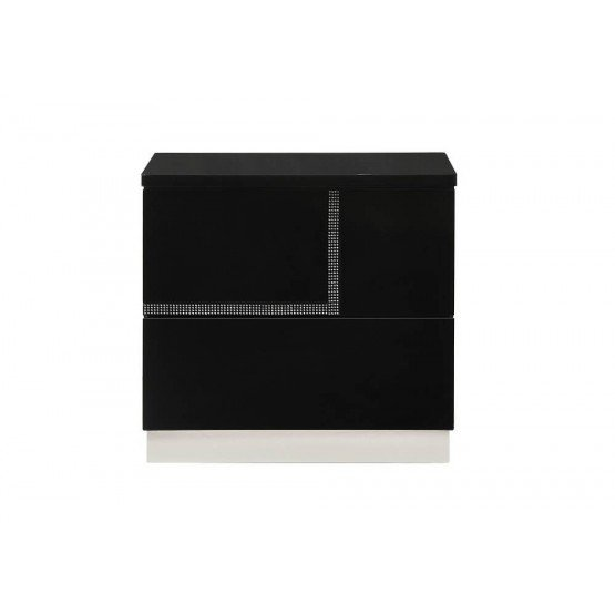 Lucca Modern Lacquer Right Nightstand photo