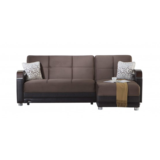 Luna Sectional, Right Arm Chaise Facing photo