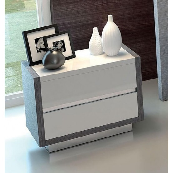 Mangano Wood Veneer Nightstand photo