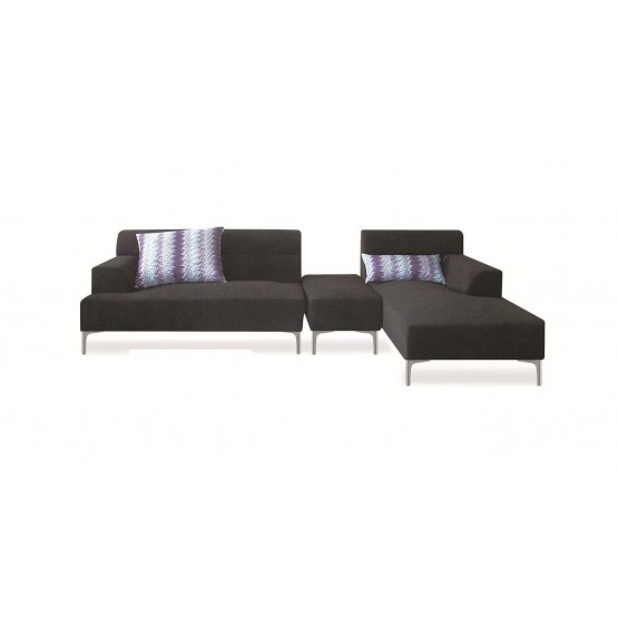 Manhattan Sectional w/Ottoman, Right Arm Chaise Facing photo