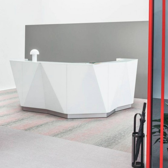 ALPA L Shaped Reception Desk photo