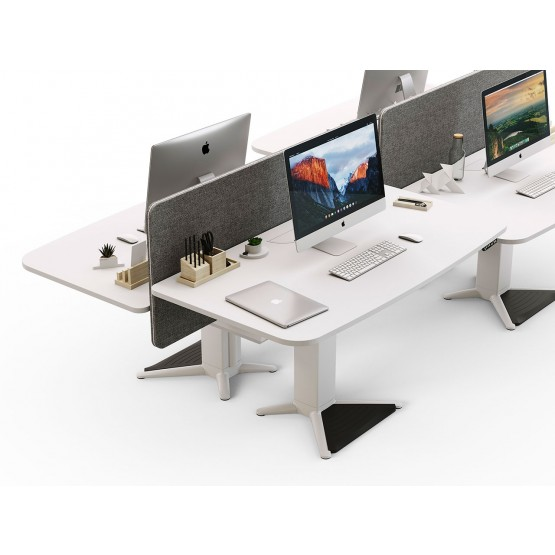 Power 100 Sit-Stand Office Desk Bench photo