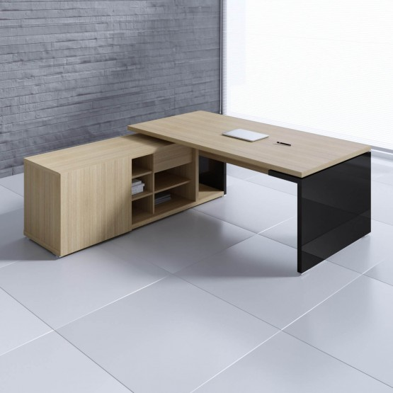 Mito Executive Desk w/Managerial Side Storage photo