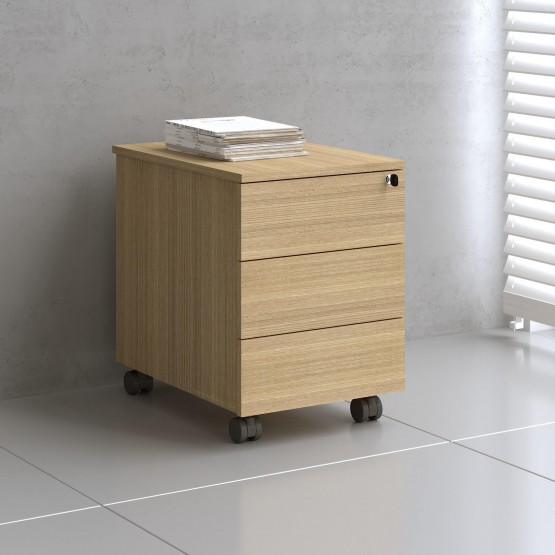 Mito Mobile Pedestal w/3 Drawers photo