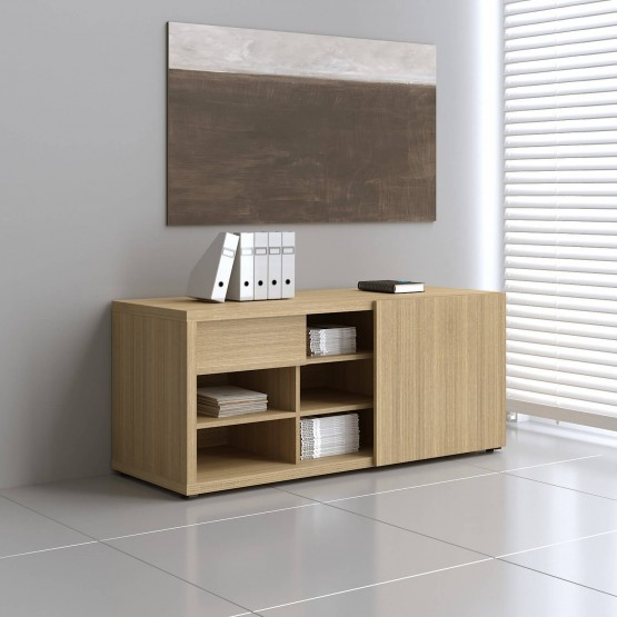 Mito Managerial Storage MIT6, Light Sycamore photo