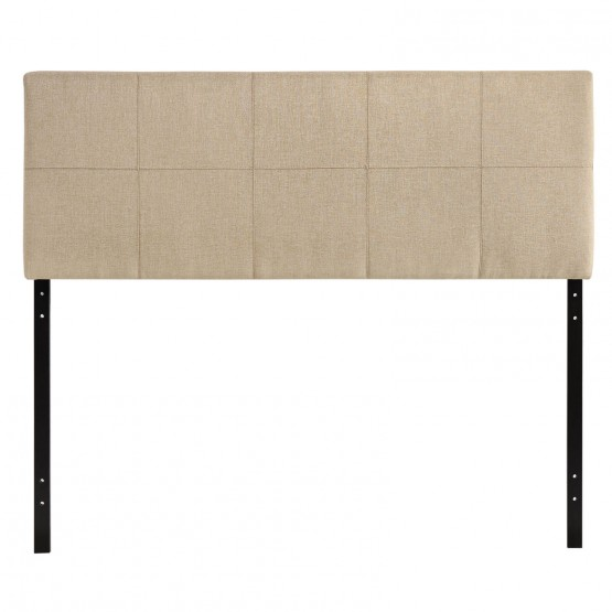 Oliver Fabric Queen Size Headboard photo