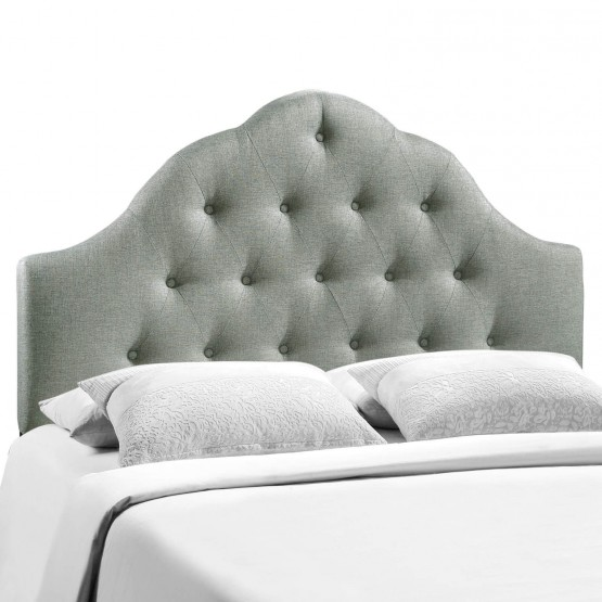 Sovereign Full Fabric Headboard, Gray photo
