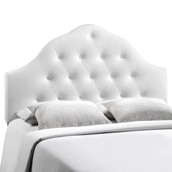 Sovereign King Vinyl Headboard, White photo