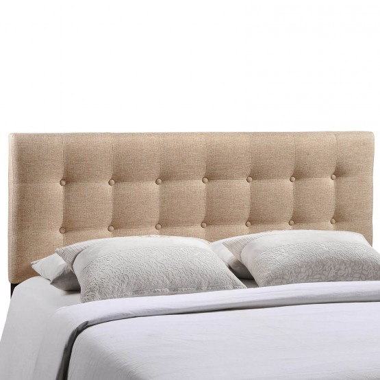 Emily Queen Fabric Headboard photo