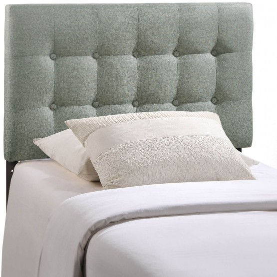 Emily Twin Fabric Headboard photo