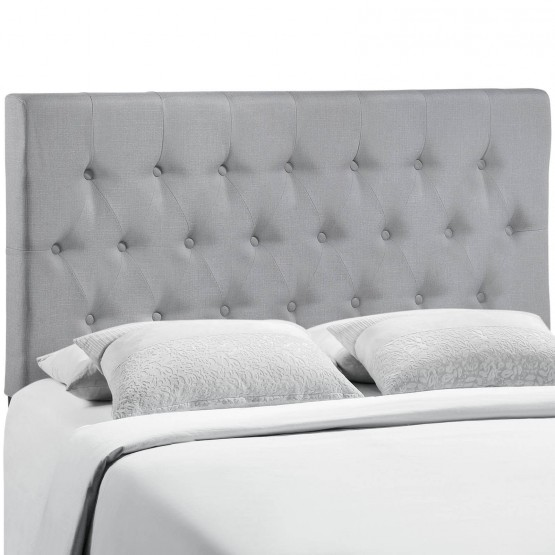 Clique Queen Headboard, Gray photo