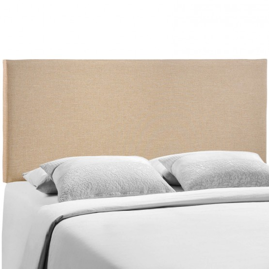Region Queen Upholstered Headboard, Cafe photo