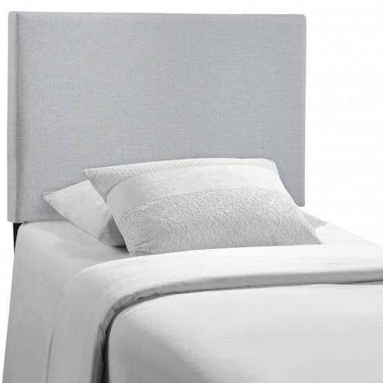 Region Twin Upholstered Headboard, Gray photo