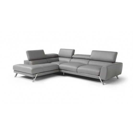 Mood Premium Leather Sectional photo