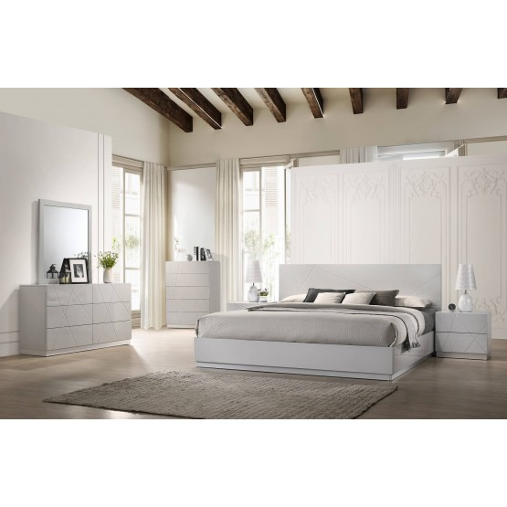 Naples Modern Platform Bedroom Set photo