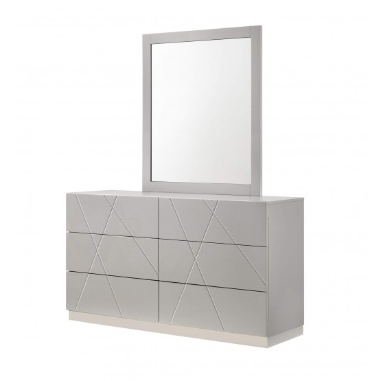 Naples Modern Dresser w/Mirror photo