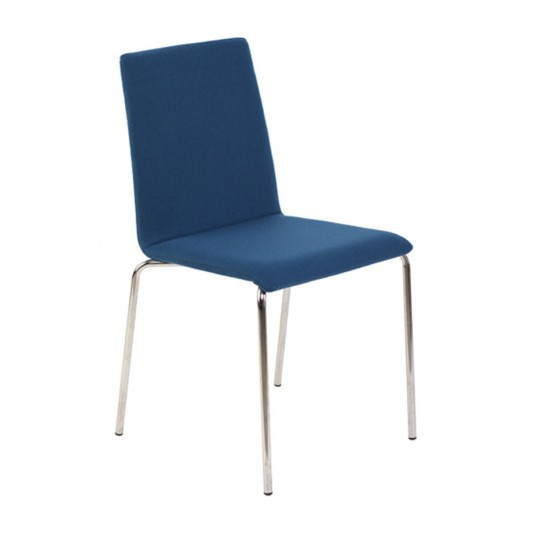 Moon Conference Fabric Chair, 4-leg Frame photo