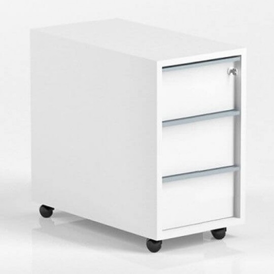 Nova Mobile Pedestal w/3 Drawers and Central Locking photo