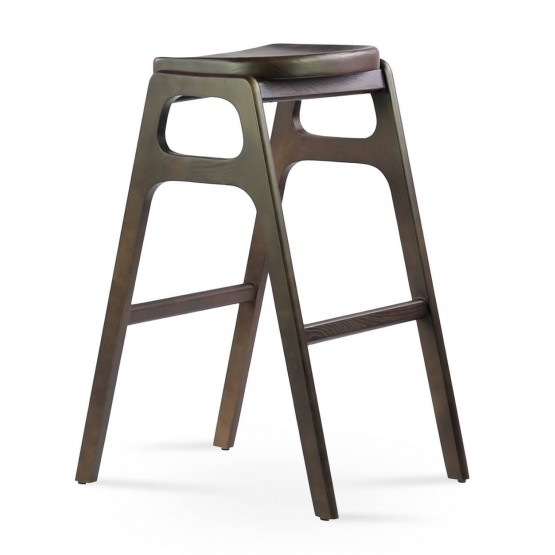 Nelson Solid Wood Stool photo