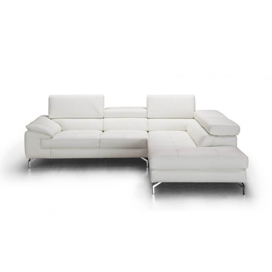 Nila Premium Leather Sectional photo