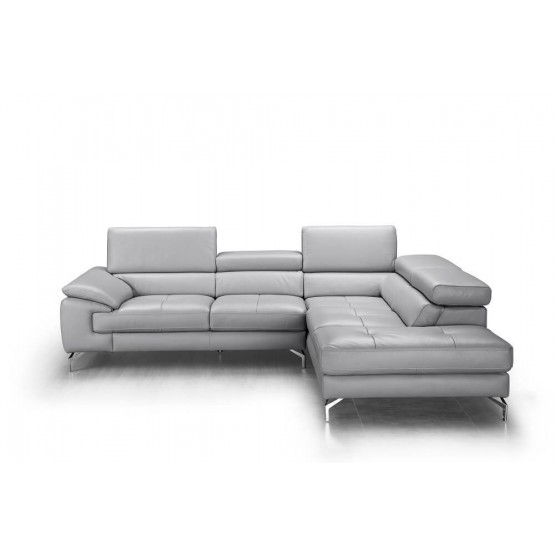 Olivia Premium Leather Sectional photo
