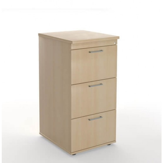 Optima Office Lockable Filing Cabinet w/3 Drawers photo