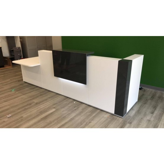 TERA Customizable Reception Desk, ADA Compilance photo