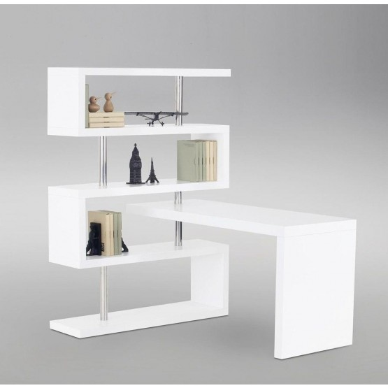 KD02 Modern Lacquer Office Desk photo
