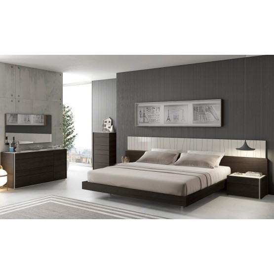 Porto Premium LED Platform Bedroom Set photo
