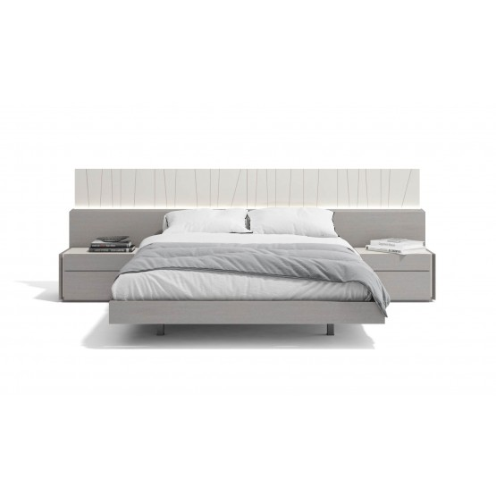 Porto Premium LED Platform Bed photo