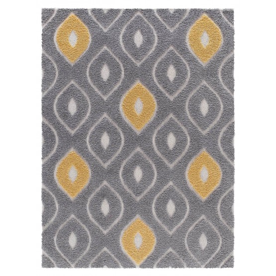 Platinum PS05-205 Polypropylene Abstract Plush Rug photo