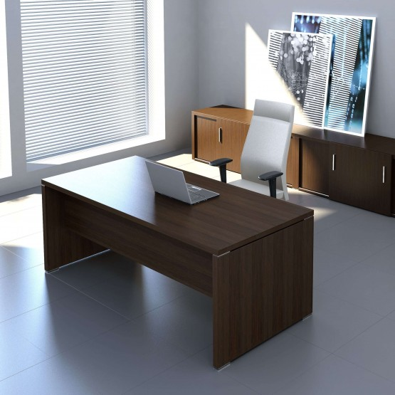 Quando Straight Executive Desk photo