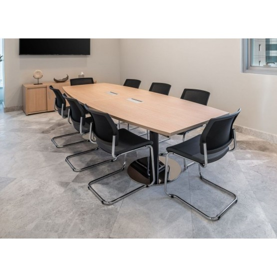 Disc Base Meeting Table for 8 Persons photo