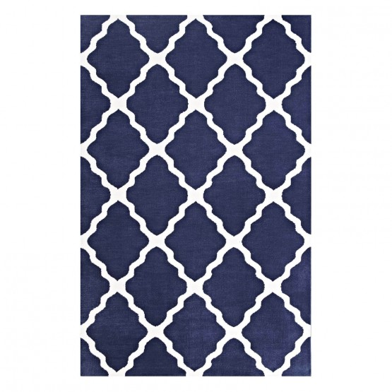 Marja Moroccan Trellis Rug photo